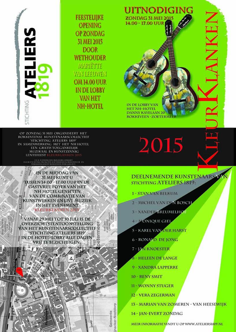 Folder KleurKlanken 2015(Front)